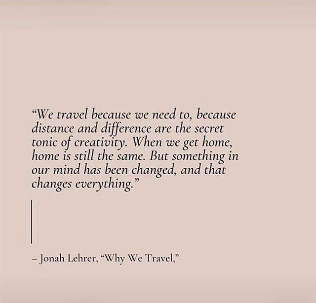 """We travel because we need to..."" Such true words, I love that quote cause travel means so much more than just going to a different place, it's about opening your mind and experience the world and the people! ✨ . . Post by @theconsciousplayground . . . #travel #secretofcreativity #creativeminds #designerslife #creativity #quotes #raythecollection #ethicalfashion #sustainablefashion #sustainability #consciousness #consciousfashion #fashion #ecofashion #nachhaltigkeit #nachhaltigemode #nachhaltigkeit #artisan #handmade #ngo #femalefounder #womenentrepreneur #smallbusiness #supportsmall #womenempowerment #consciousliving #slowfashion #slowliving #stuttgart #india"