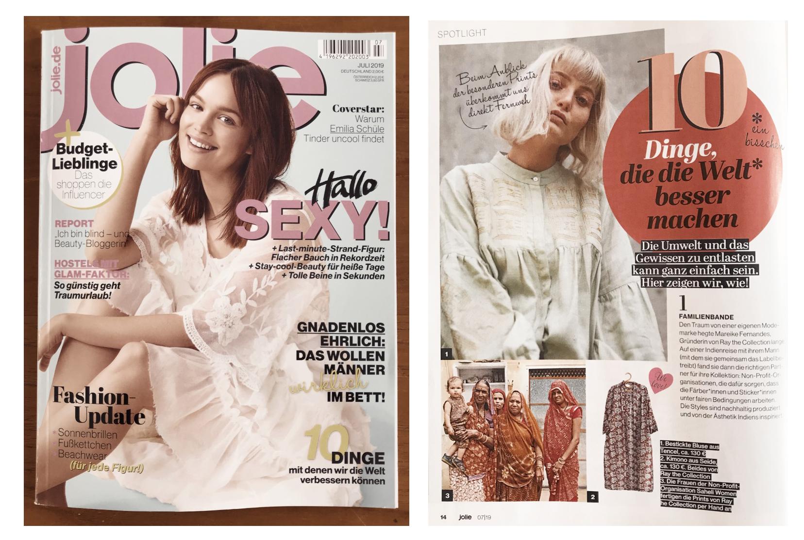 "Magazine ""Jolie"""