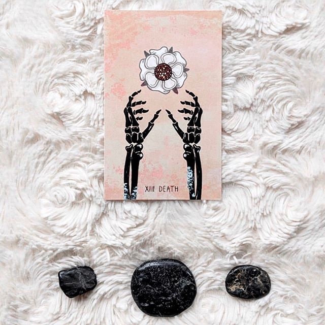 "The first card I pull, for my first reading, from my first tarot deck: DEATH 💀😱 ⠀⠀⠀⠀⠀⠀⠀⠀⠀ I hear you loud and clear, Universe. It's time to let go of the past and stop trying to make things the way they were. Also super fitting that I've just moved to a new home in a new state. I'm so ready to bring in fresh energy and creativity! • • • Whether it's in business, life, or relationships things are always evolving and changing because you are always evolving and changing. You can't ever go back to how things used to be, so it's pointless trying. And maybe you're romanticizing the past? Maybe it's not as epic as you remember it to be. Better things lie ahead! ""It's always getting better and better."" ⠀⠀⠀⠀⠀⠀⠀⠀⠀ When you ask for an uplevel, it requires you to let go of the old to make space for the new. To let go of what you've been safely clinging to for the unknown. Let your attachments die, and allow yourself to birth new ideas, dreams, and steps to get to new, BIGGER places. ⠀⠀⠀⠀⠀⠀⠀⠀⠀ To whoever needs to hear this: It's time. You ARE ready. . . . 📸 @thespacioustarot"