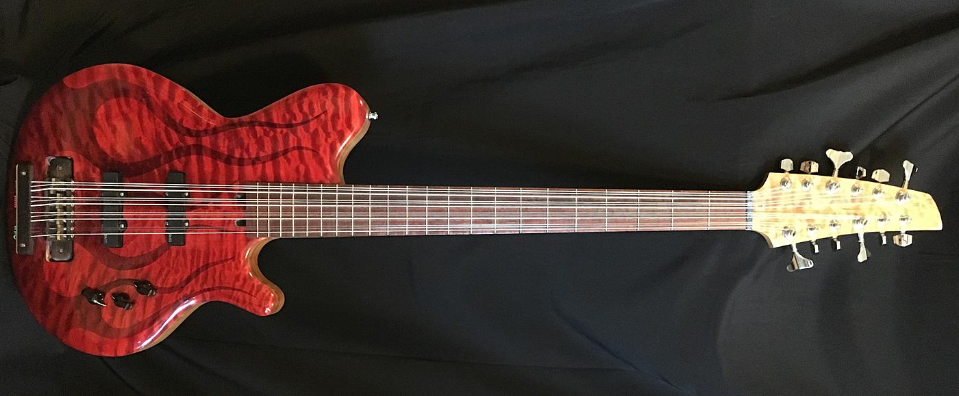 Bonobo Guitars 12-String Bass