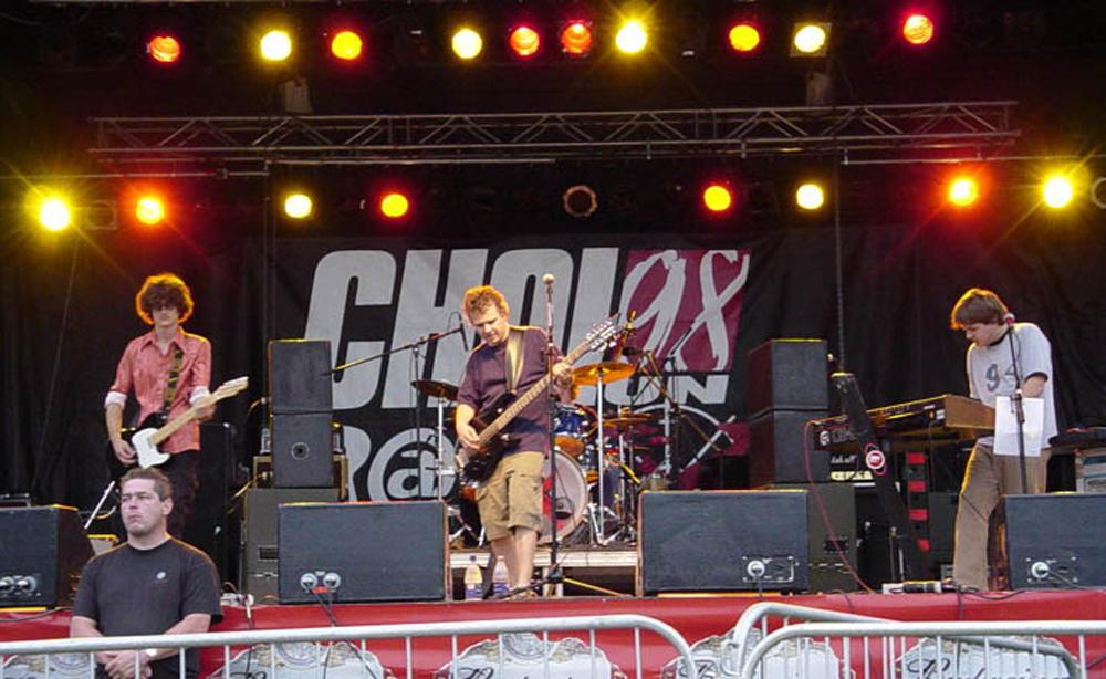 Éonz on stage
