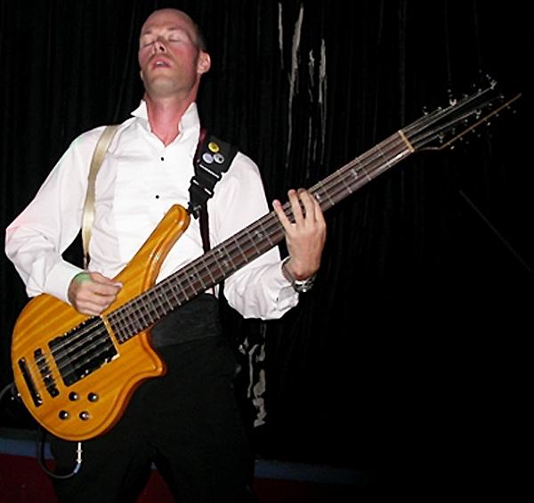 Adam Fogo - Galveston with custom Musicman-style pickups