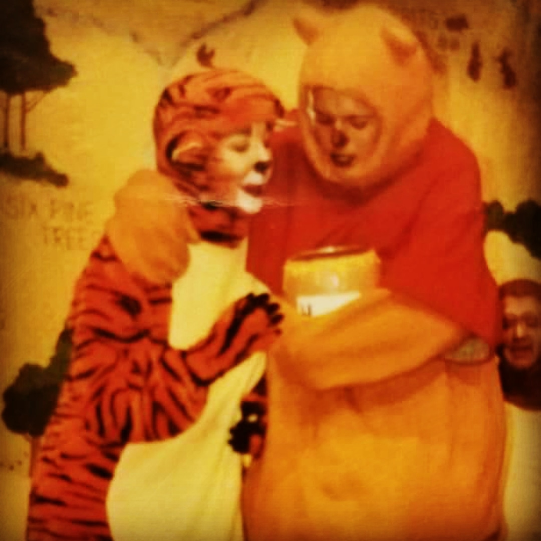 The highlight of my acting career… Me, as Tigger. circa 2000
