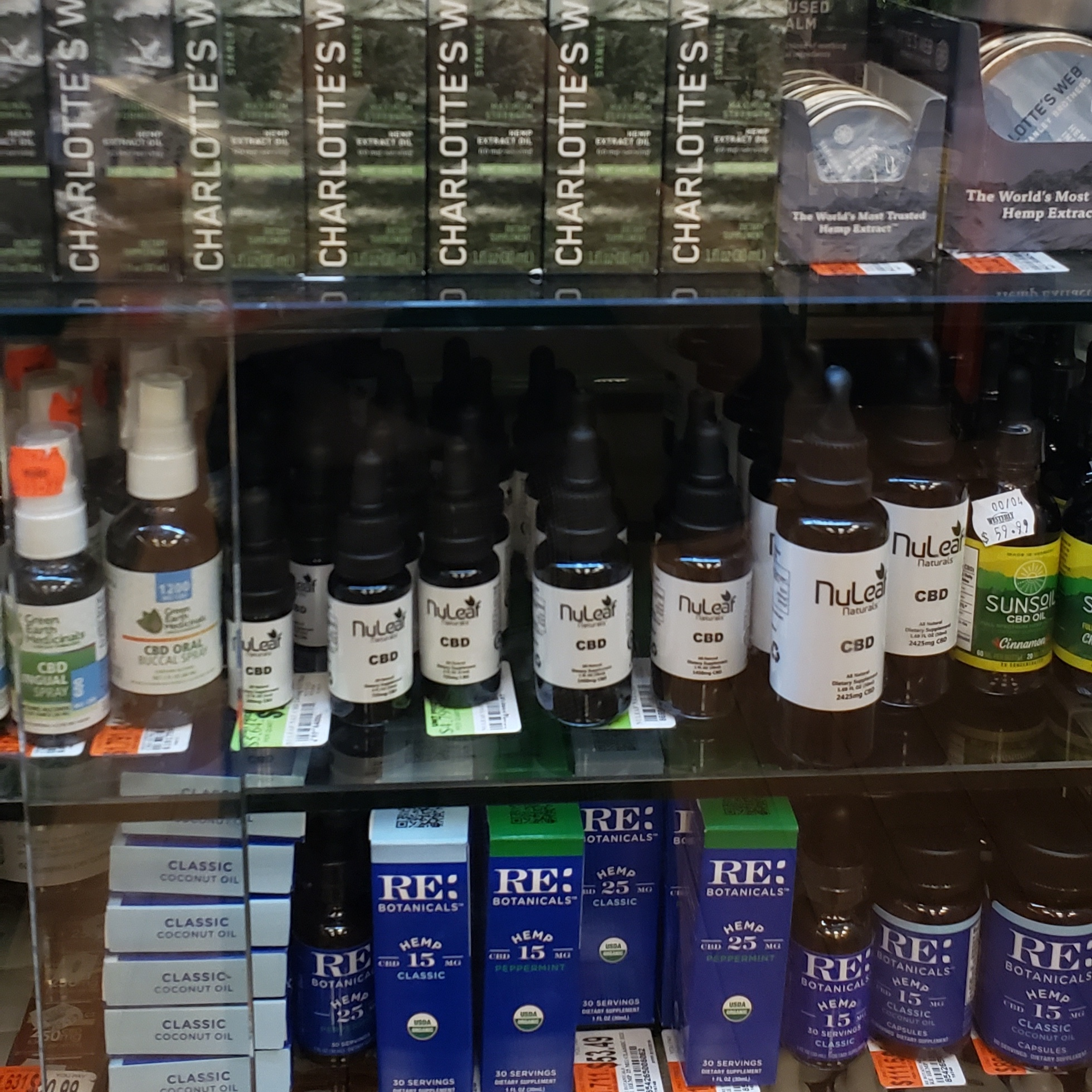So much competition, but NuLeaf Naturals flys off the shelves in NYC!