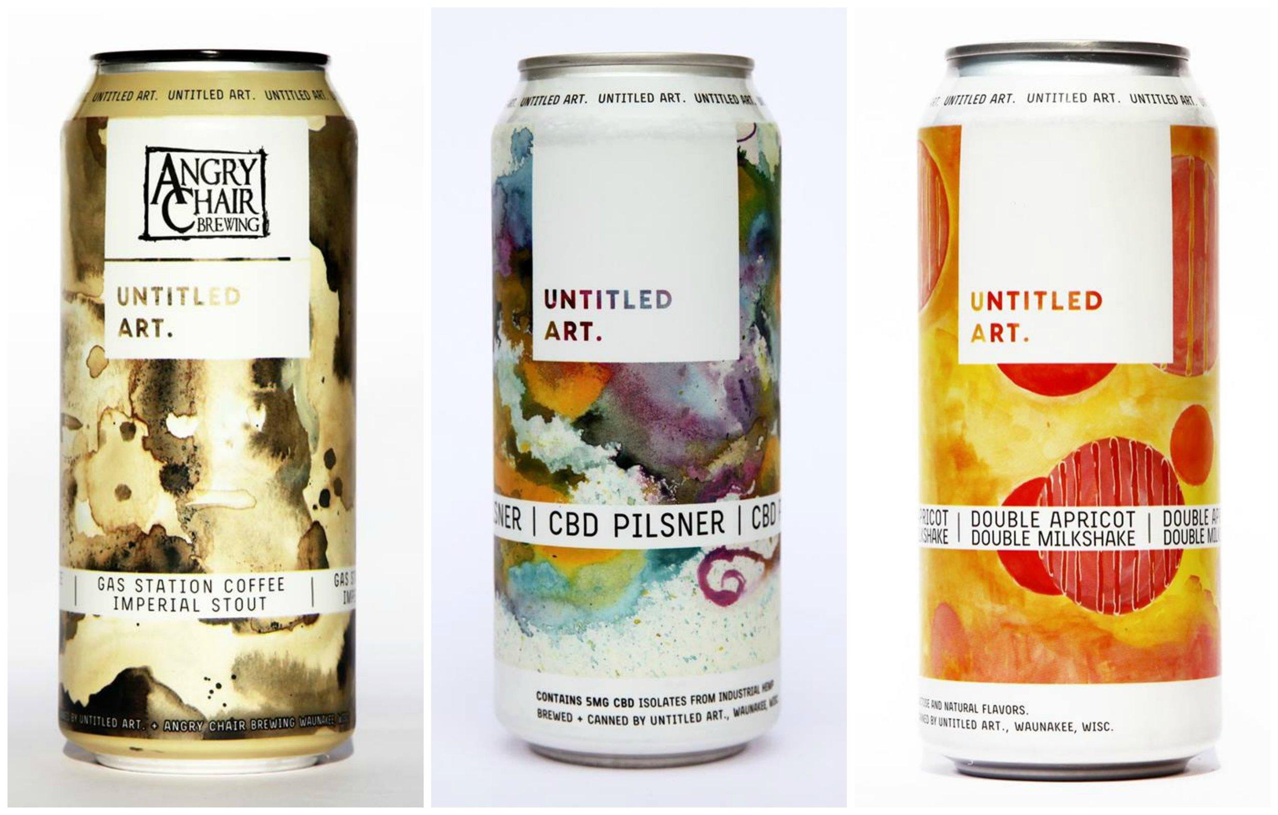 Untitled Art Brewing - Label Artwork by Teresa Navajo
