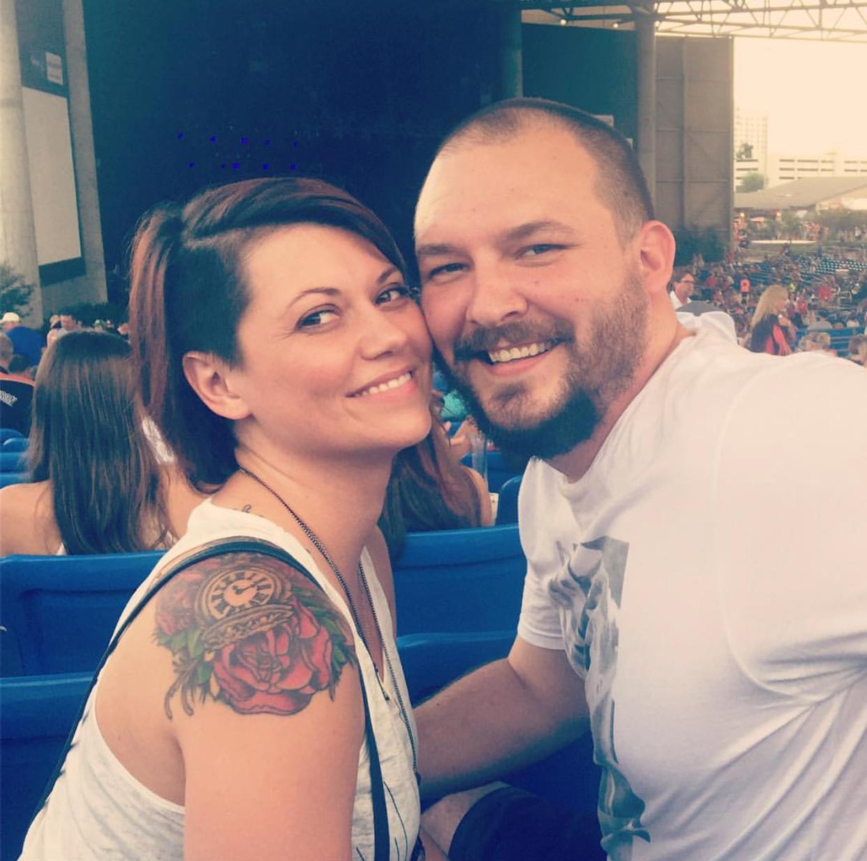 Teresa and Andrew - Cris Stapelton concert