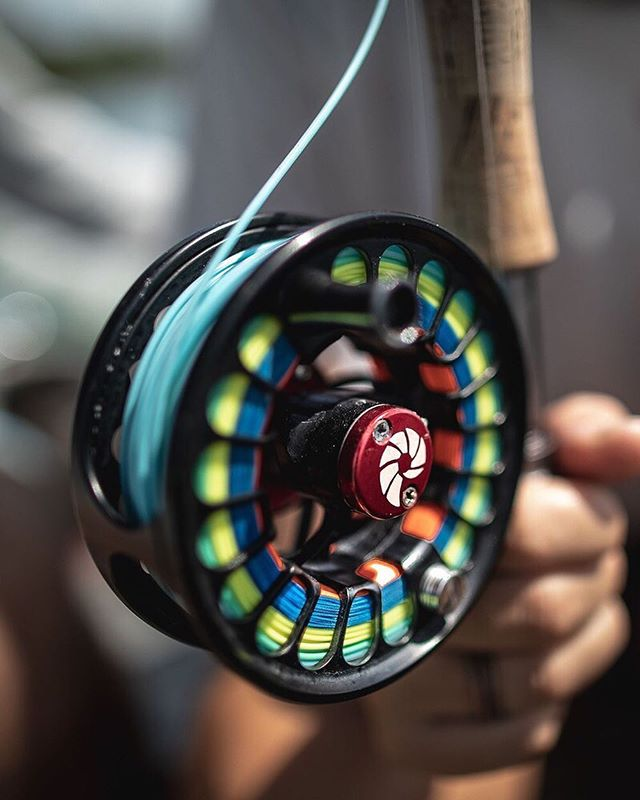The perfect mate for an eight weight @nautilusflyreels
