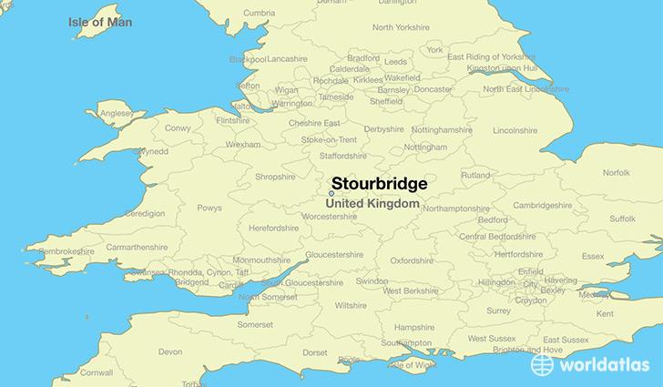Escape the Pike- Stourbridge map