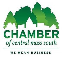 Jack Starkey and Alexandra McNitt of the Chamber of Central Mass South
