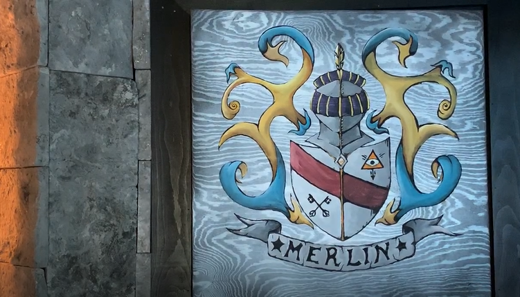 Merlin's Vision- Coat of Arms