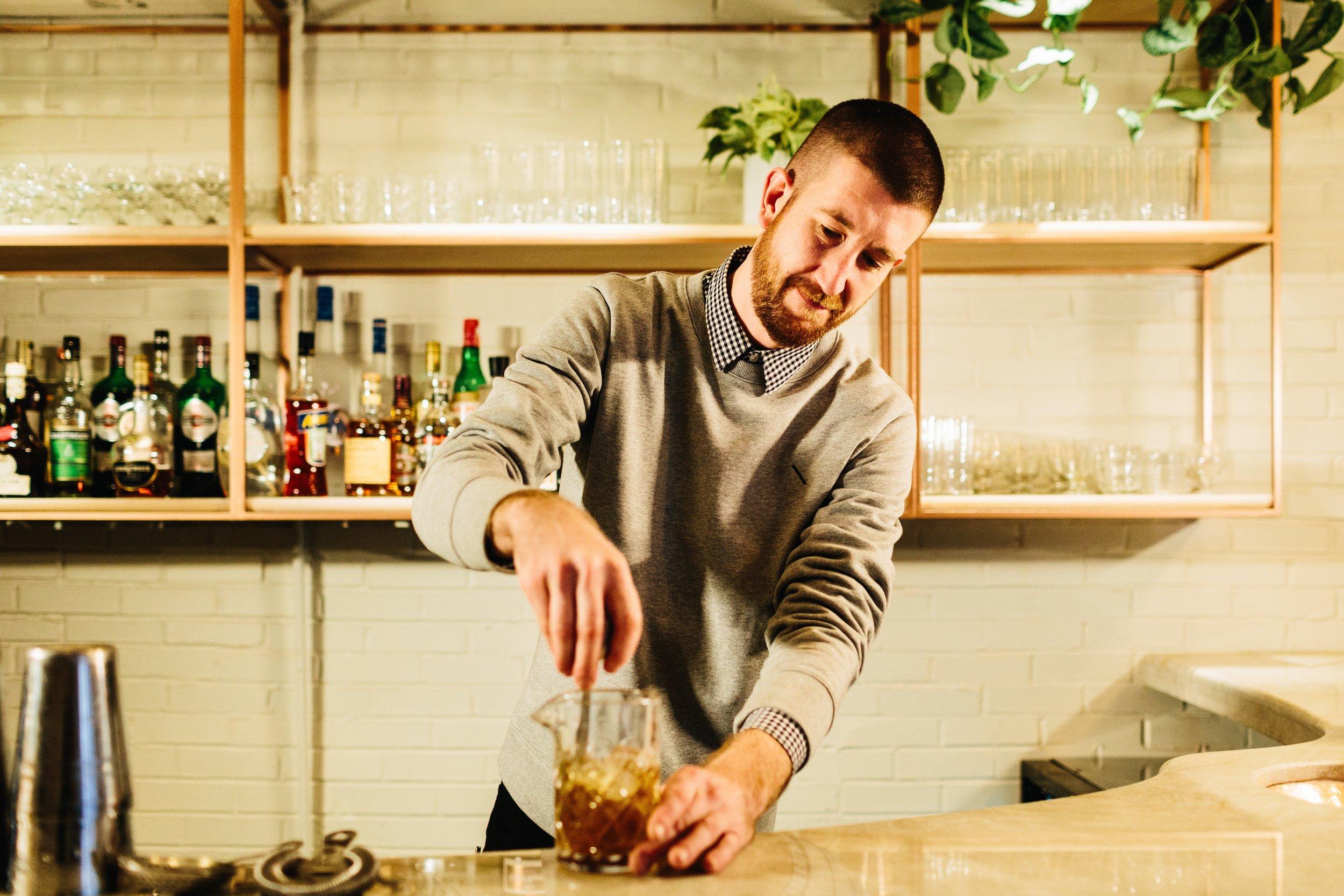 Bartender, Andrew Pisano