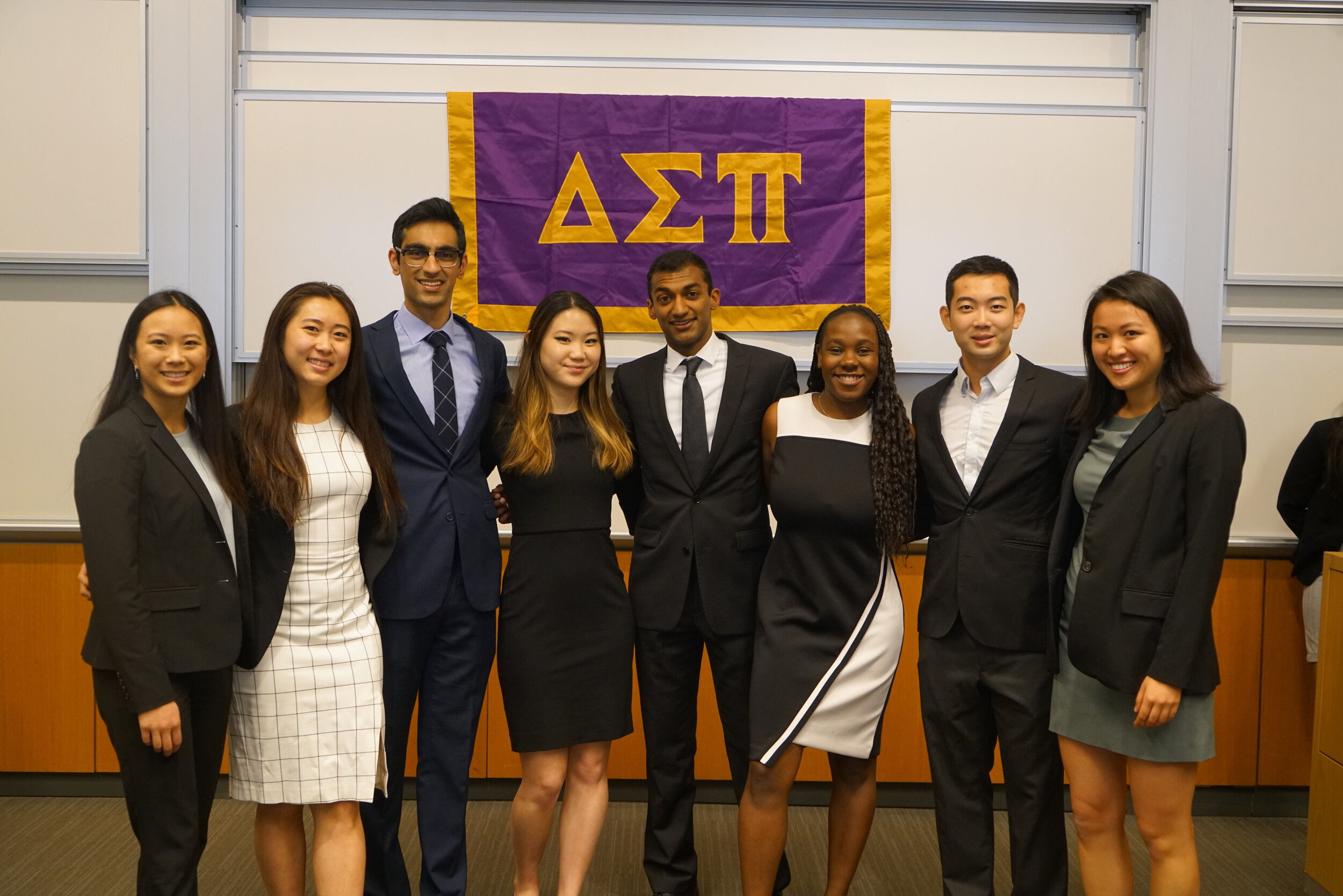 About Us - The Beta Nu Chapter of Delta Sigma Pi upholds the highest standards of professionalism, service, and brotherhood