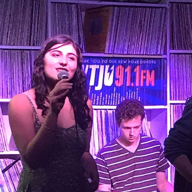 Thank you @wtjuradio for hosting us last night for our second musical commons performance!