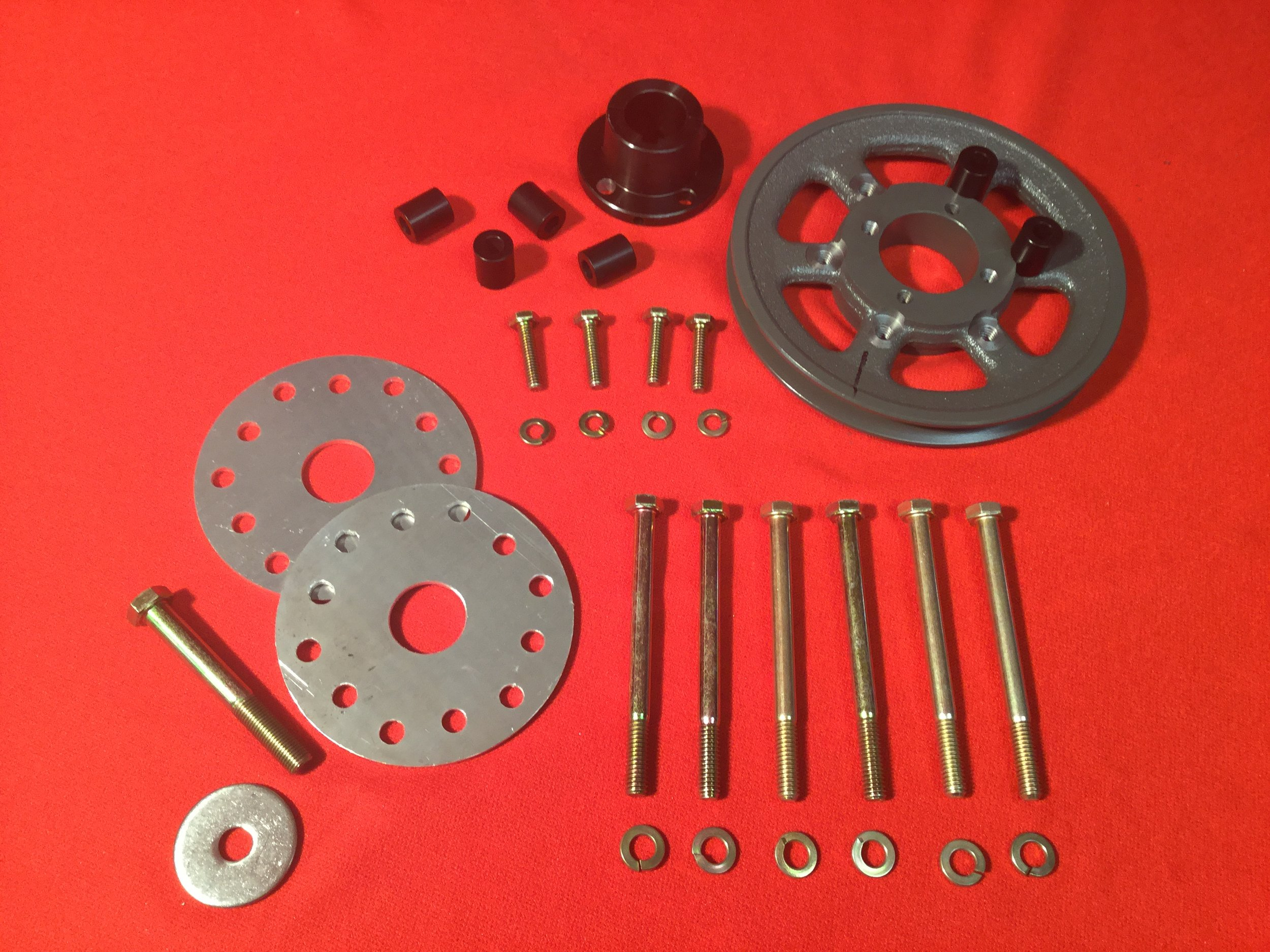 Prop Flange Kit with Pulley - Prop Flange Kit with 6