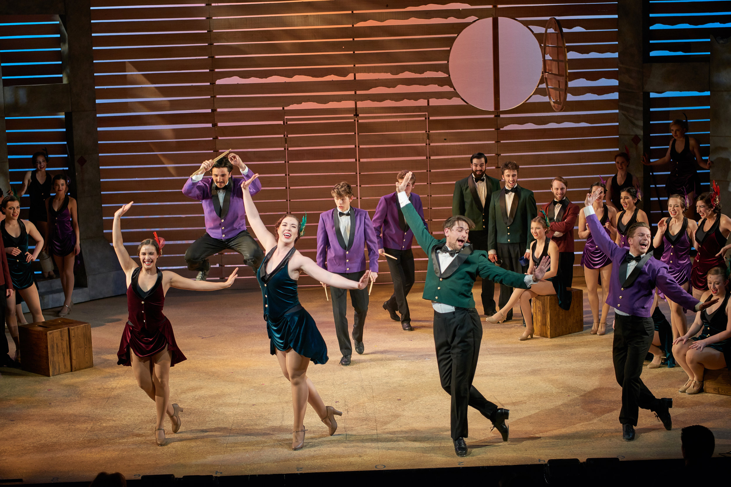 Crazy for You  - Theatre Sheridan, 2018 / PHOTO: John Jones Photography