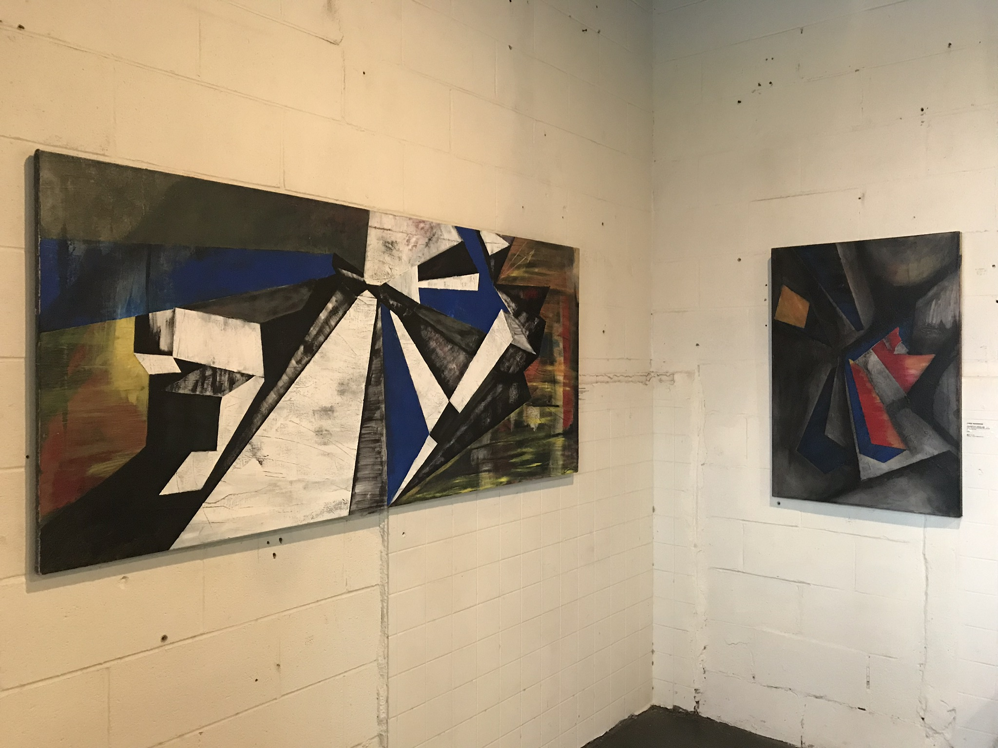 Showing at the collective