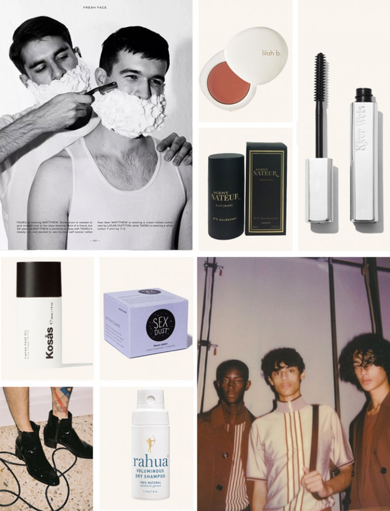 The Beauty Edit: Boys Night OUt - for Atelier Dore