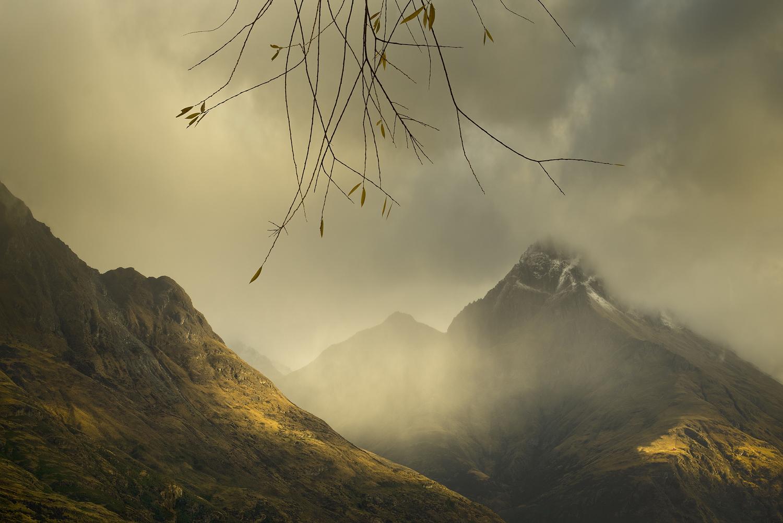 Walter Peak light