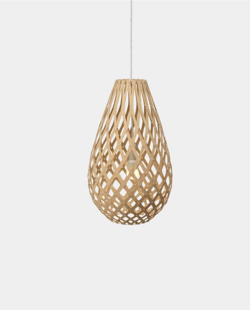 The Iconic Koura light pendant from  David Trubridge  Image sourced from  www.davidtrubridge.com