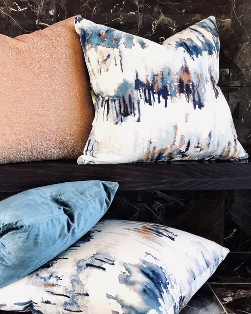 New Zealand Hand-made cushions from the makers at  Zanders & Co .  Image sourced from: www.zandersandco.co.nz