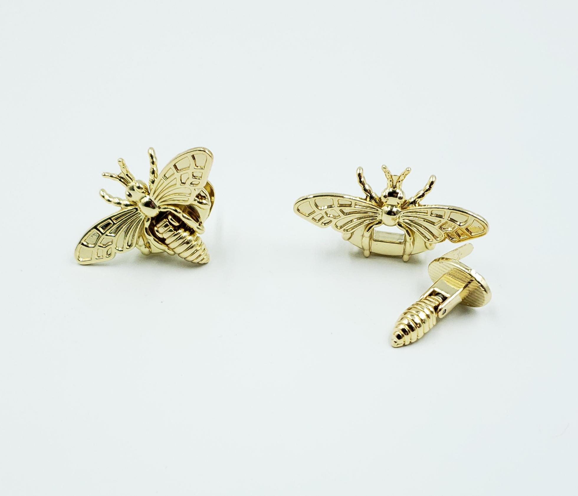 Gold Bee Lock
