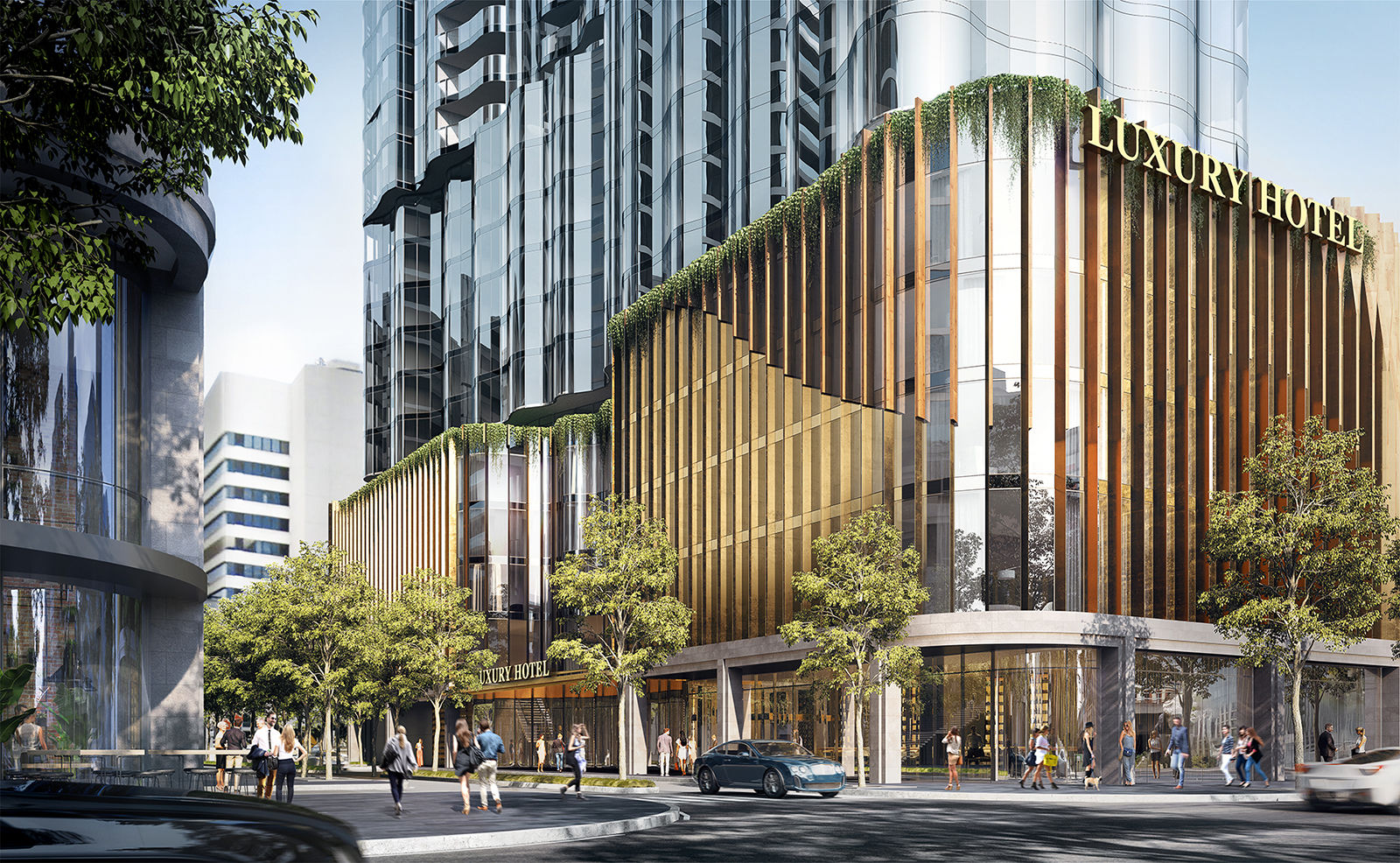 AN UNRIVALLEDLUXURY PRECINCT - An exciting new destination for Melbourne, Flinders Bank integrates a vibrant retail podium, premium residences, luxurious amenities and the first St. Regis Hotel in Australia.