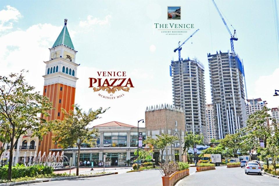 The Venice Piazza, Manila