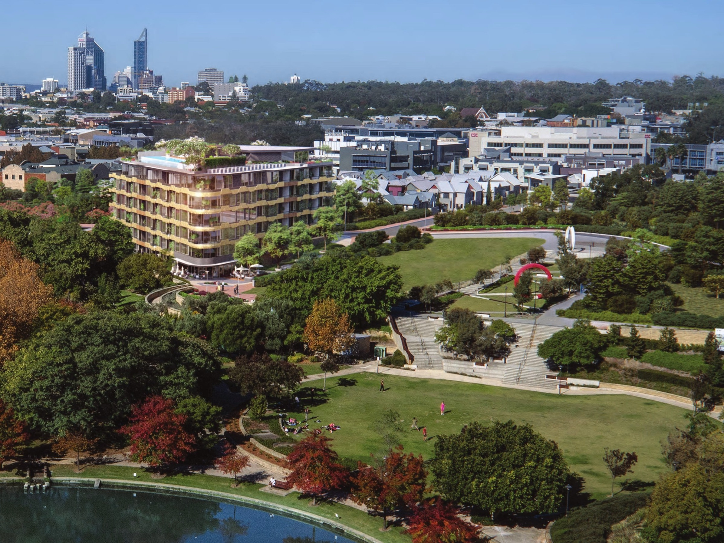 PARKLAND SERENITY AT YOUR DOORSTEP - Enter the world of Botanical. A world where, every day, you'll enjoy the peace and serenity of your very own piece of paradise. Just a short distance away lies Subiaco Common, one of Perth's best inner-city parkland retreats. With an ornamental lake as its centrepiece, surrounded by walking and cycle paths, and stunning landscaped gardens - all at your front door to enjoy all year round.Botanical's residents will have direct access to this beautifully landscaped and manicured parkland.