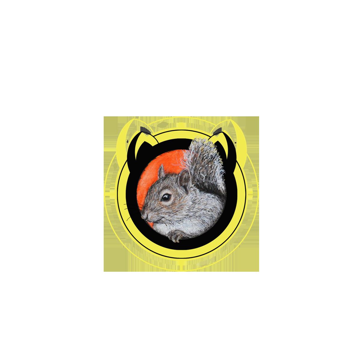 """""""PEEKABOO"""" - the squirrel"""