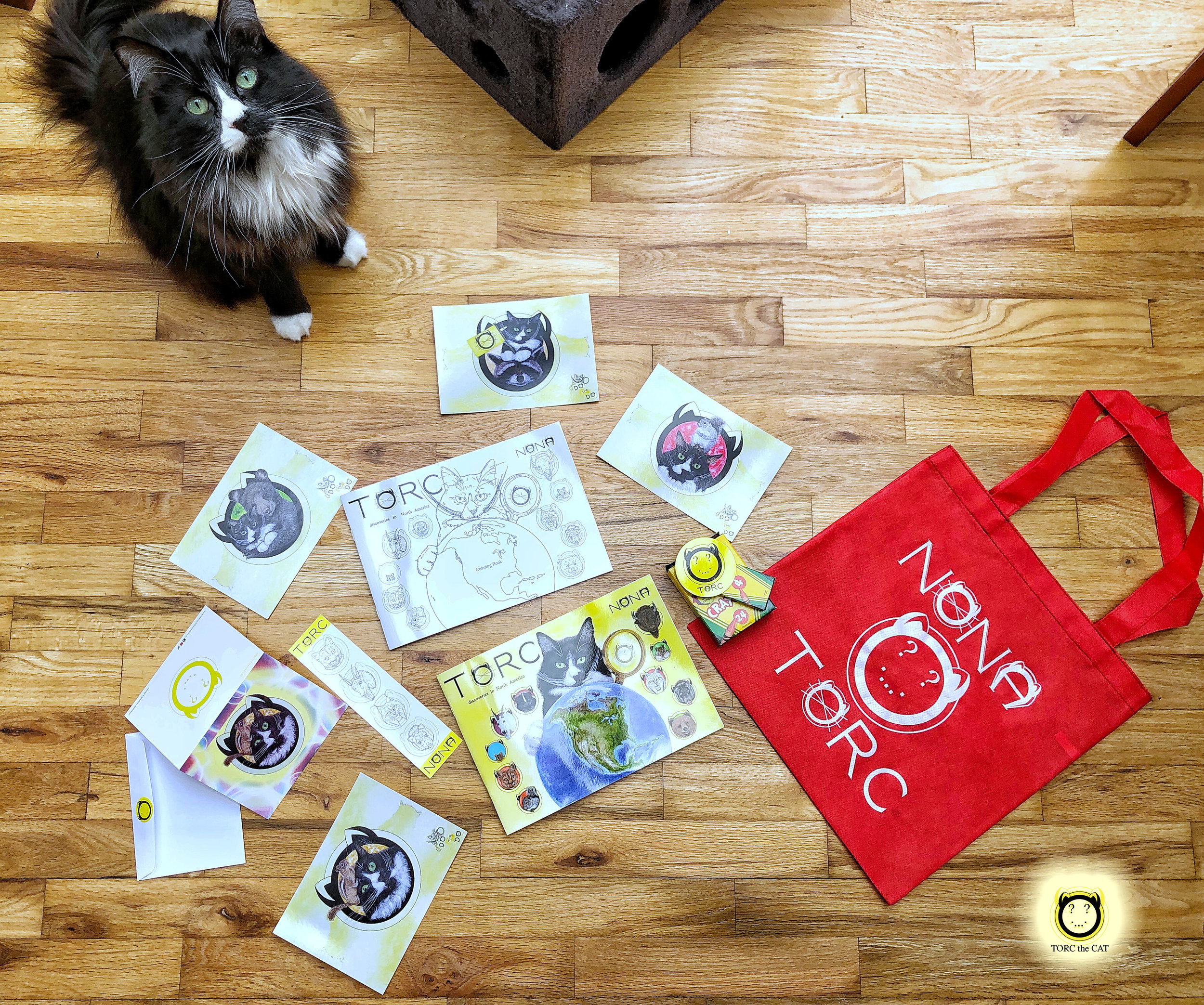Because Christmas is a struggle for many families, TORC the CAT prepared more than 400 gifts to kids in need.