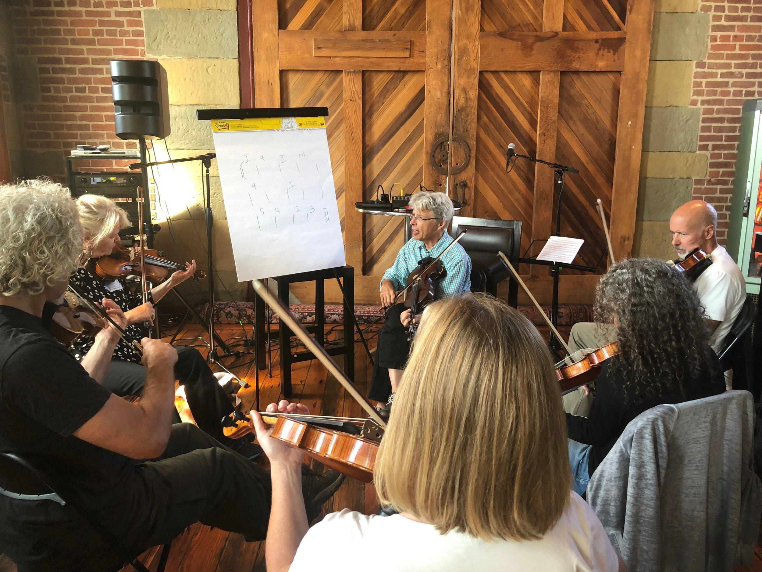 Darol Anger's California Fiddle Intensive