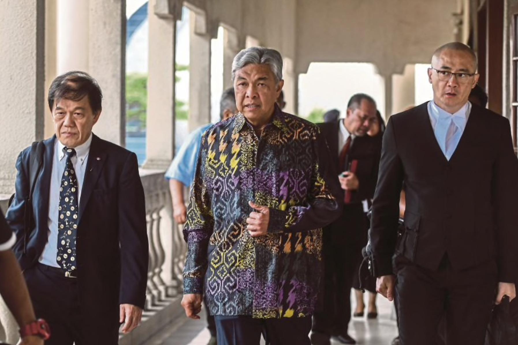 Umno president Datuk Seri Dr Ahmad Zahid Hamidi was today slapped with an additional criminal breach of trust (CBT) charge involving RM260,000 belonging to Yayasan Akalbudi. (Bernama photo)