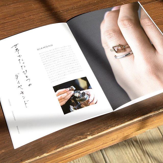 . 新しいウェディングカタログのが出来上がりました! . 6回目となる今回のカタログには ダイヤモンドリングも掲載しています。 . ご希望の方は1週間程で お送りしますので楽しみにしててください。 . . . #結婚指輪#婚約指輪#wedding#atelierplow
