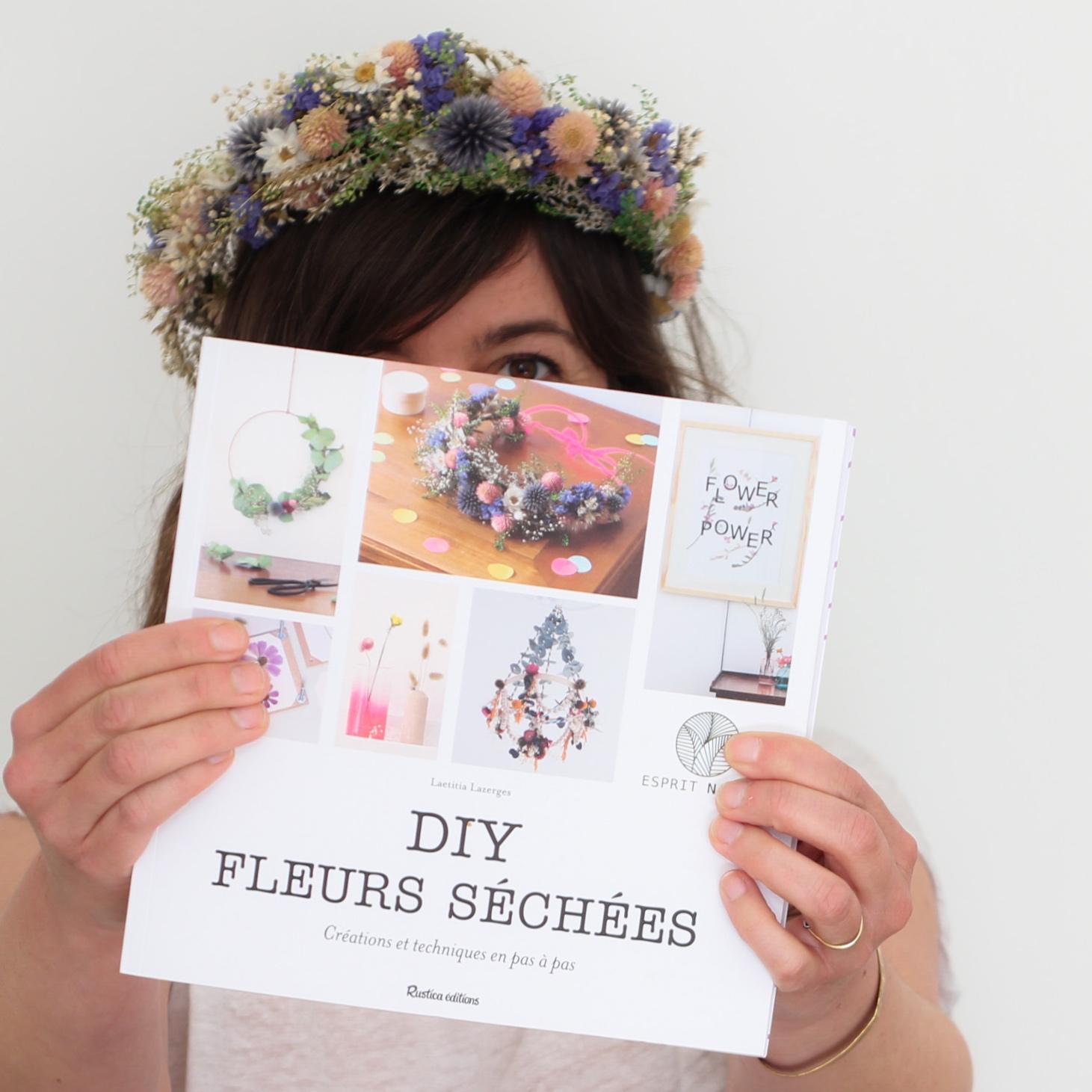 TOP 5 des livres sur les fleurs séchées sur kraft & carat (vert cerise)