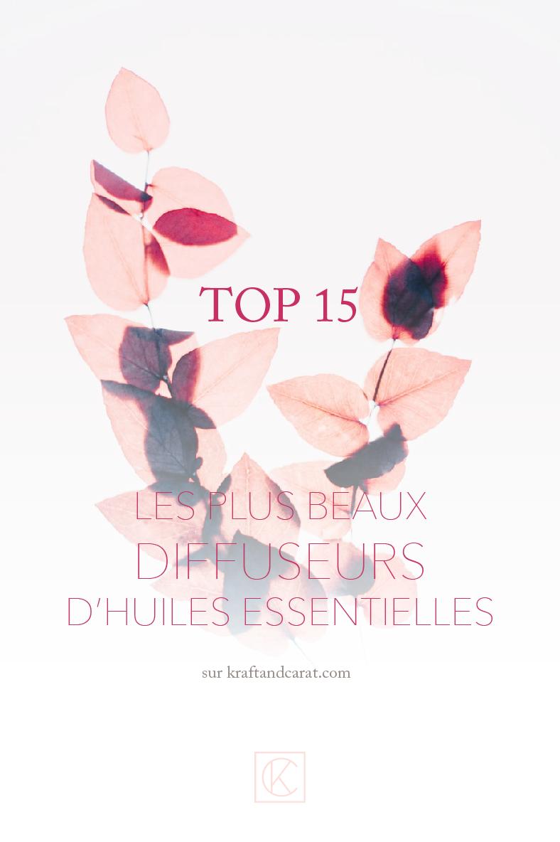 TOP15 des plus beaux diffuseurs d'huiles essentielles et parfum d'intérieur sur kraft & carat