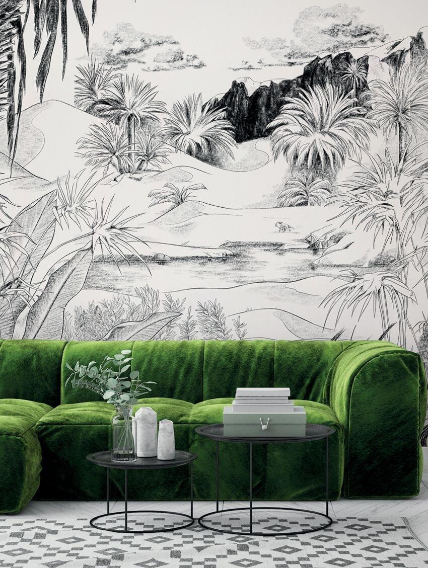Papier Peint Panoramique Paysage jolie sélection de papiers peints panoramiques en grisaille