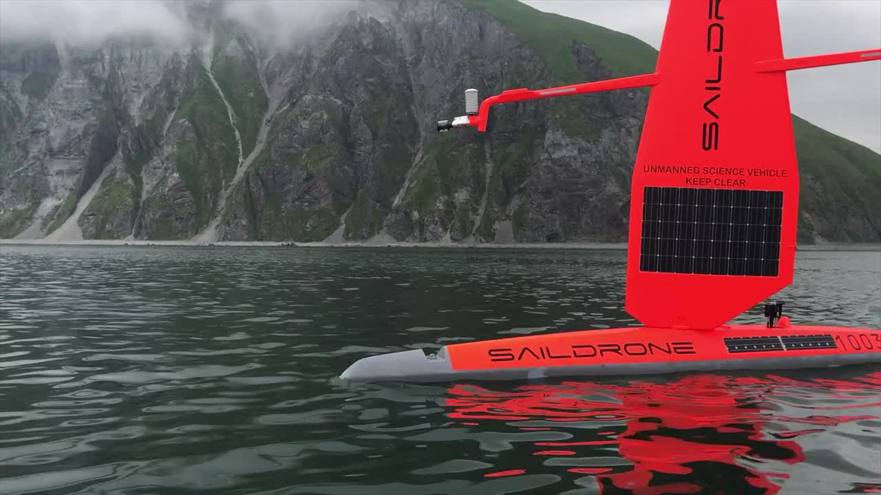 Saildrone - Wind-powered ocean drones to understand how planetary systems affect humanity