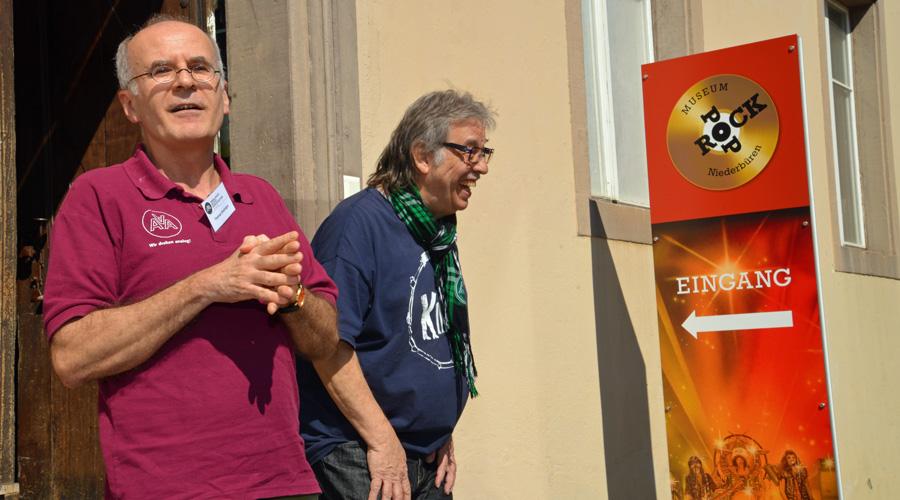 Thomas Breitinger und Tschibii