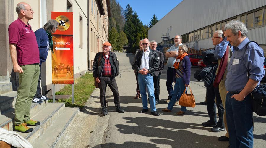 Begrüssung im Pop- und Rockmuseum in Niederbüren
