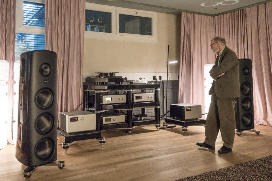 Besuch bei unserem Branchenmitglied Michael Reinhard in der beeindruckenden  Soundloft .