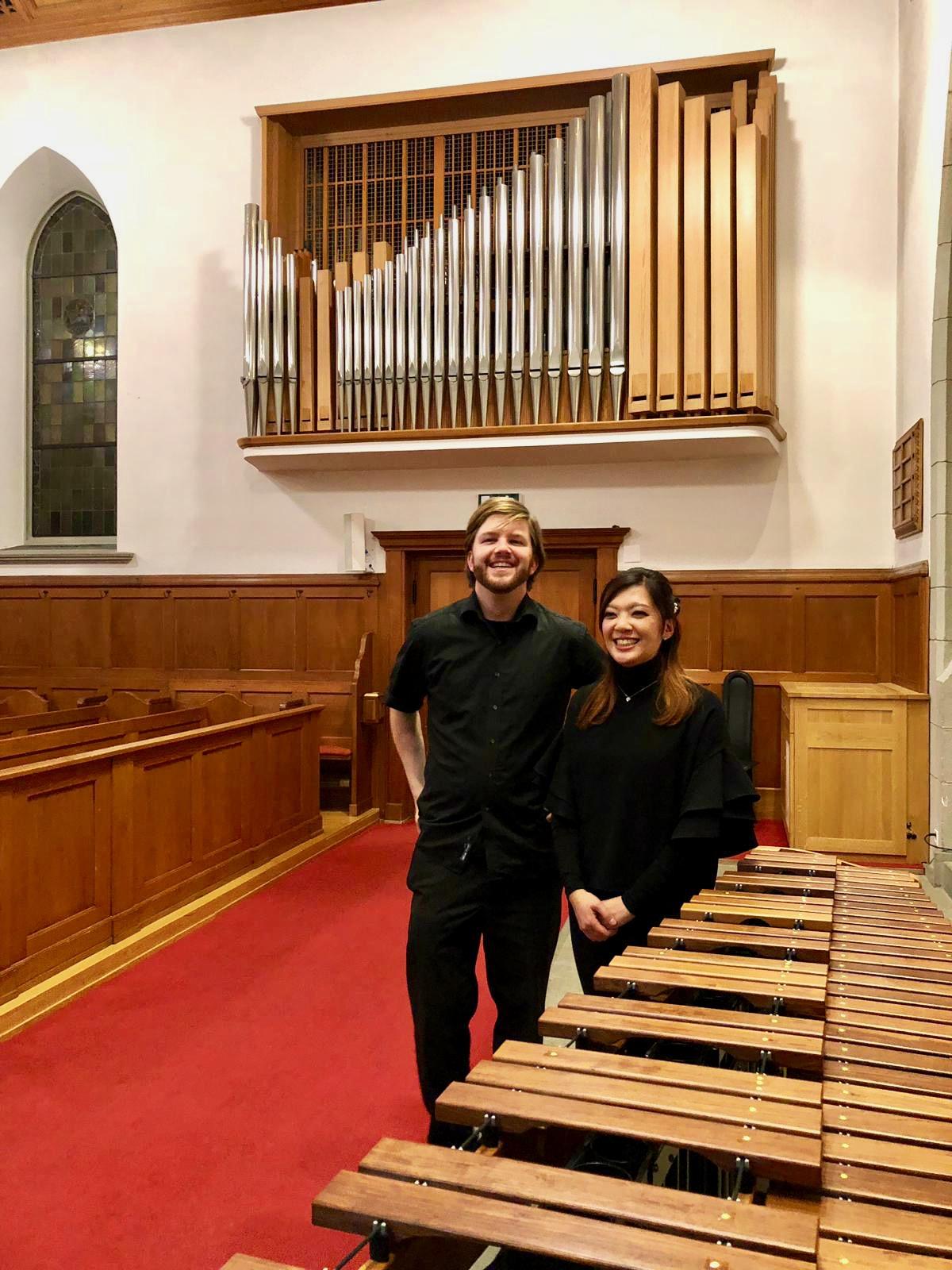 Orgel und Marimba
