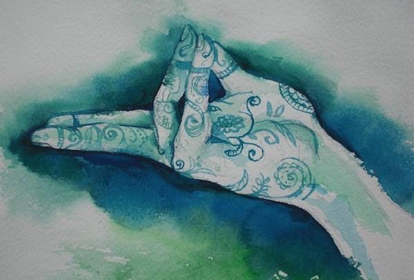 Emotional healing mudra spirituality breath