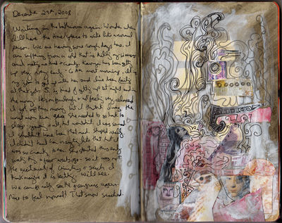 Dream Journal art using dreams addiction recovery