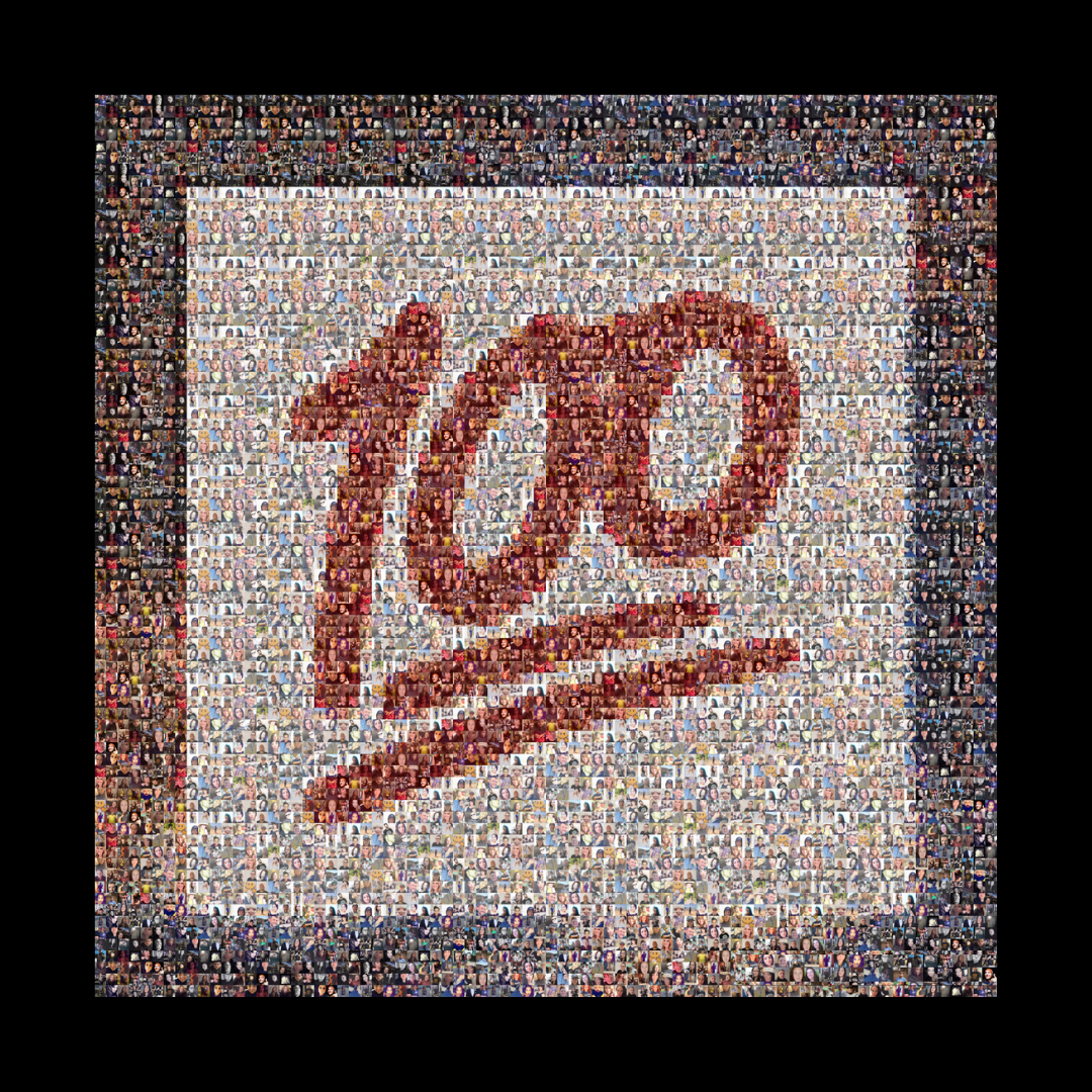We now have 100 photos for the mosaic front cover! Thank you all. One thousand faces of one thousand heroes will be here soon!