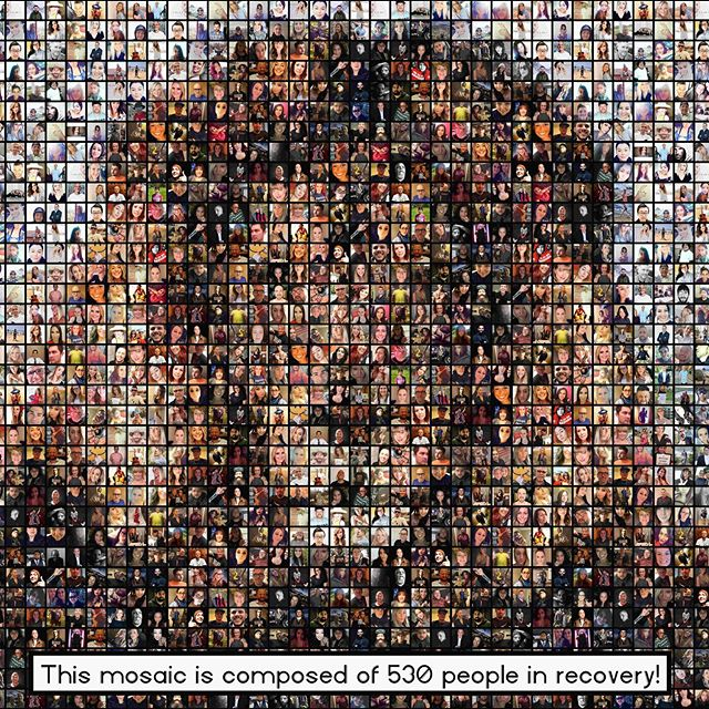 🎉Here's a mosaic to celebrate 500+ photos for the mosaic front cover of The Addict with a Thousand Faces: A Memoir.! (Note: This is not the cover, only a sample mosaic). Zoom in and see if you can find you. It has been a long journey so far, and I've learned a lot. Every person in this mosaic has such a different background, and different interests and hobbies. I mean…here you have moms and dads, hairstylists, rappers, singers, entrepreneurs, environmentalists, travelers, reptile enthusiasts, students, horse riders, dog lovers, podcasters, photographers, mystics, guitar players, teachers, boxers, body builders, writers, poets, artists, business men and women, SCUBA divers, runners, gardeners, hikers, softball players, sneaker heads, and list goes on. We are all so different, BUT, we are all united in (at least) ONE thing: we are human beings who are in recovery—we're striving for our greater potential. How cool is that. It's powerful, y'all. . . 🦁I chose the lion for this sample mosaic, because the lion represents courage, and, stepping into the unknown (in to recovery) is a HUGE act of courage. I wrote a song about the experience I had this weekend (making the mosaic, getting a poster made, and reflecting on it). I'll post it on my IGTV shortly after this post. Thank you all. You're teaching me a lot about myself and about recovery. . . ⚠️If you have friends in recovery who may be interested, please tell them they're welcome to send a photo to my DM, or to my email jacob.ocain.books at gmail. . . . . . #recovery #addictionrecovery #sobriety #soberlife #sober #memoir #mswl #soberaf #justfortoday #inspiration #hope