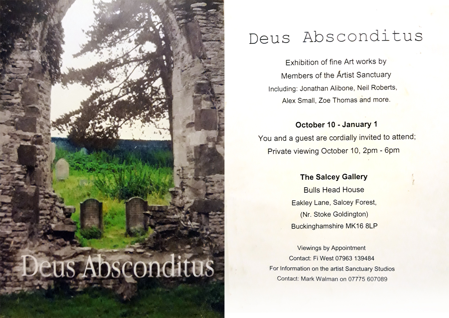 Deus Absonditus - The Salcey Gallery (2007)