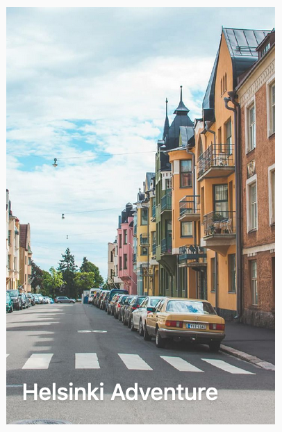 Helsinki adventure