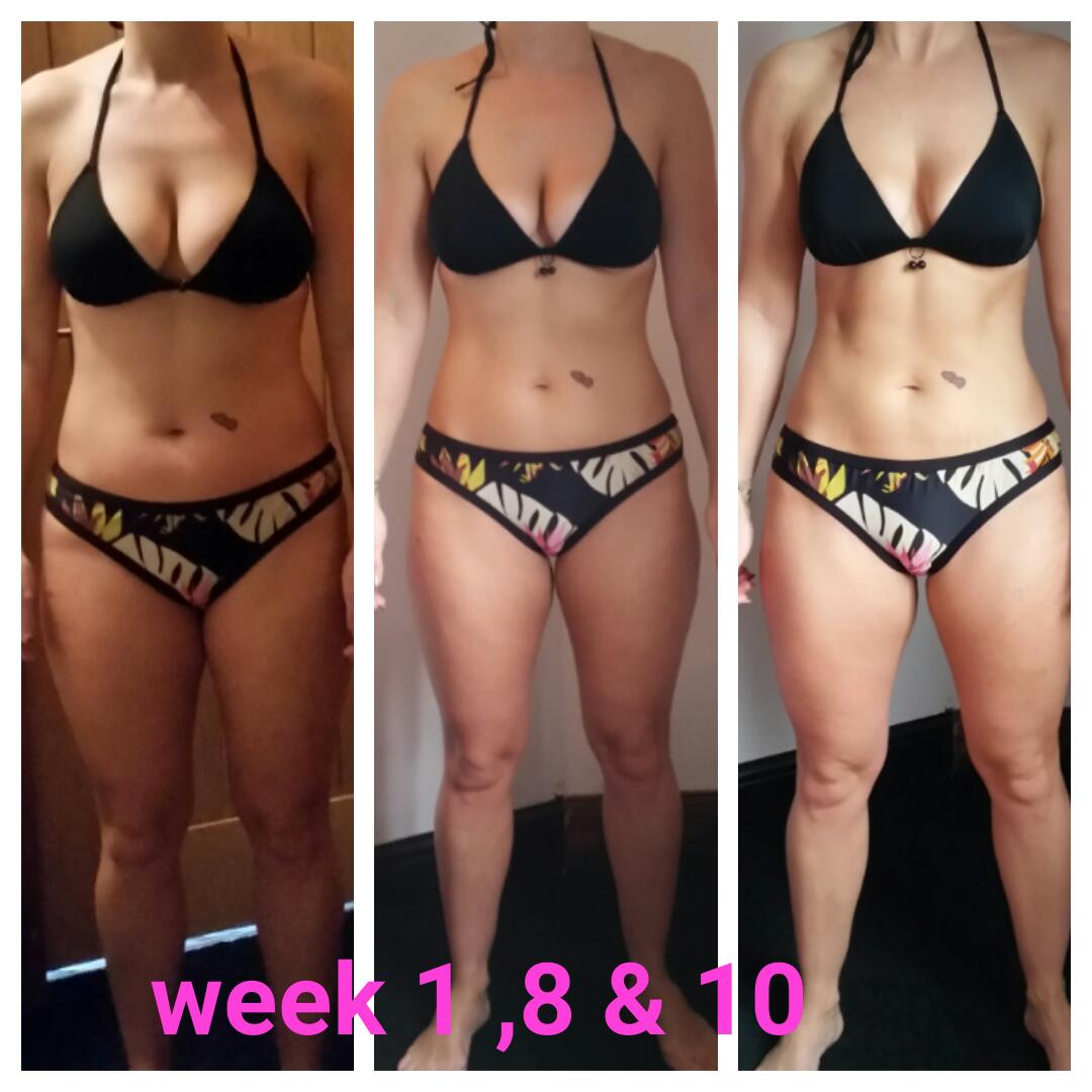Clare Williams   I am so proud of Clare, you can see the results of her amazing transformation. Her core is tighter, she has achieve much more strength and flexibility. Seeing results like this brings me joy.