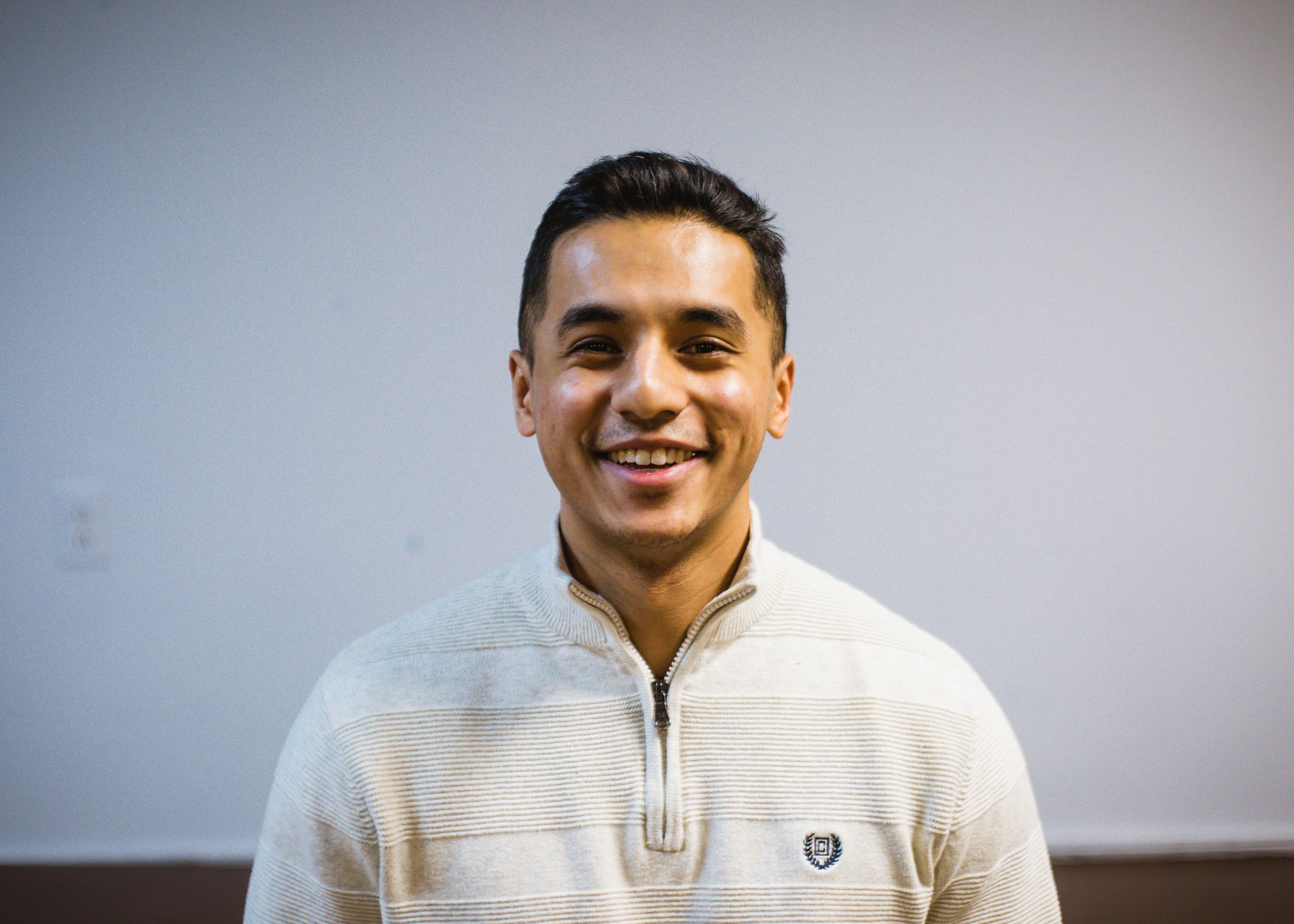 PARAM YONZON - Hey, my name is Param and I'm a Pastoral Apprentice at New Hope. I was born and raised in Minnesota into a Nepali family who were culturally Hindu and Buddhist. I was introduced to the Christian faith at New Hope when I was a freshman studying at St. John's University. I fell in love with Jesus through being discipled, reading the scriptures, and spending time in community at New Hope. I currently work for a risk finance firm and go to school at Reformed Theological Seminary. My hobbies include running, reading, and hiking!