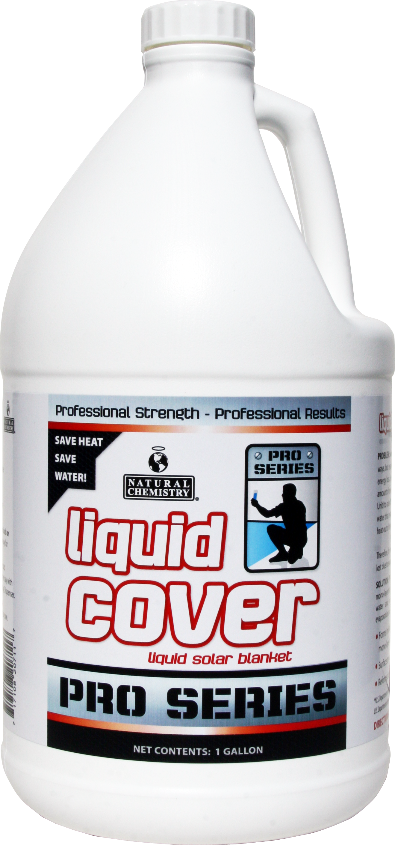 Liquid Cover   PRO SERIES Liquid Cover's advanced mono-layer technology offers users the ability to save water and money by dramatically decreasing evaporation and heat loss.